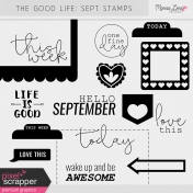 The Good Life: September Stamps Kit