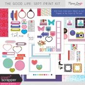 The Good Life: September Print Kit