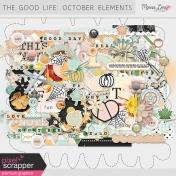 The Good Life: October Elements Kit