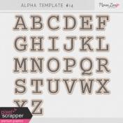 Alpha Template Kit #14
