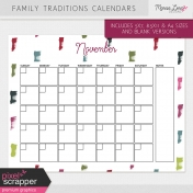 Family Traditions Calendar Kit