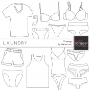 Laundry Illustrations Kit