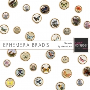 Ephemera Brads Kit