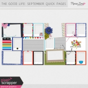 The Good Life: September Pocket Quick Pages