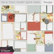 Tea & Toast Pocket Quick Pages Kit