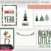 The Good Life: December Art Prints Kit