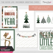 The Good Life: December Greeting Cards Kit