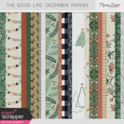 The Good Life: December Papers Kit
