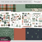 The Good Life: December Print Kit