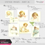 Vintage Images Kit- Baby #2