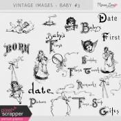 Vintage Images Kit- Baby #3