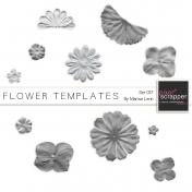 Flower Templates Kit #17