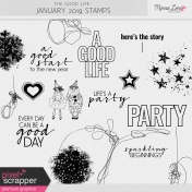 The Good Life: January 2019 Stamps Kit