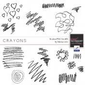 Crayons- Brush #18 Kit