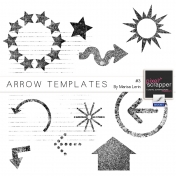 Arrow Templates Kit #3