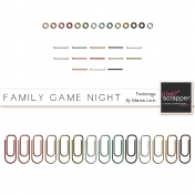 Family Game Night Fastenings Kit