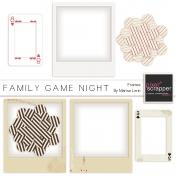 Family Games Night Frames Kit