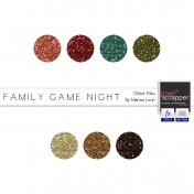 Family Game Night Glitters Kit