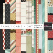 Family Game Night Background #2 Kit
