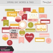 Spring Fields Words & Tags Kit