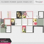 Flower Power Quick Pages Kit