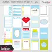 Pocket Card Templates Kit #2- 3x4