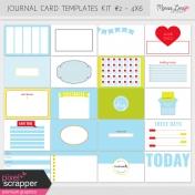 Pocket Card Templates Kit #2- 4x6