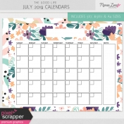The Good Life: July 2019 Calendars Kit