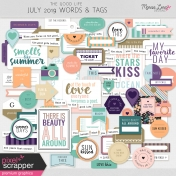 The Good Life: July 2019 Words & Tags Kit