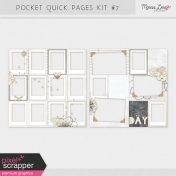 Pocket Quick Pages Kit #7
