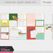 Food Day Quick Pages Kit