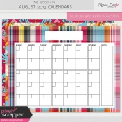 The Good Life: August 2019 Calendars Kit