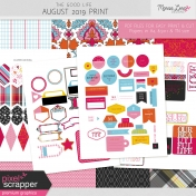 The Good Life: August 2019 Print Kit