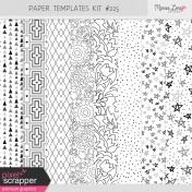 Paper Templates Kit #225