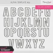 Alpha Template Kit #32