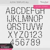 Alpha Template Kit #33
