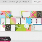 Summer Lovin' Quick Pages Kit
