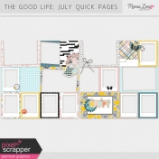 The Good Life: July 2018 Quick Pages Kit