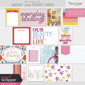 The Good Life: August 2019 Pocket Cards Kit