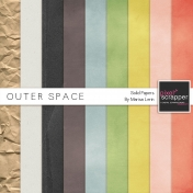 Outer Space Solid Papers Kit