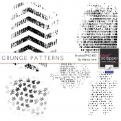 Grungy Patterns- Brush #22 Kit