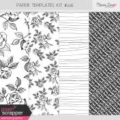 Paper Templates Kit #226