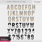 Alpha Template Kit #36