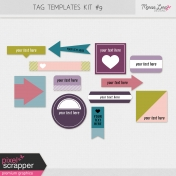 Tag Templates Kit #9