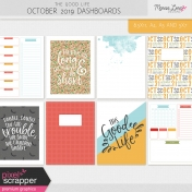 The Good Life: October 2019 Dashboards Kit