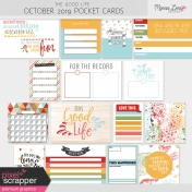 The Good Life: October 2019 Pocket Cards Kit
