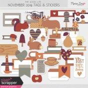 The Good Life: November 2019 Tags & Stickers Kit