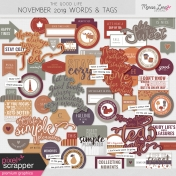The Good Life: November 2019 Words & Labels Kit