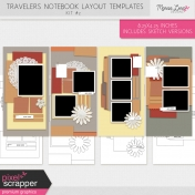 Travelers Notebook Layout Templates Kit #2
