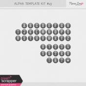 Alpha Template Kit #43